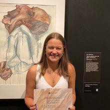 Prue Wilkinson Wins People's Choice Award at 2020 Top Arts