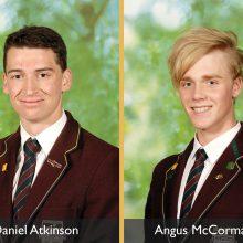 2013 OGA Scholarship Winners: Angus McCormack and Daniel Atkinson