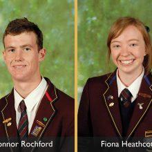 2010 OGA Scholarship Winners: Connor Rochford and Fiona Heathcote